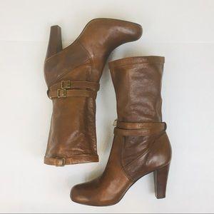 Frye Miranda Slouch Boot - Cognac